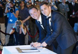 First French gay couple wed