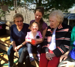 Visiting with Great Grandmamas