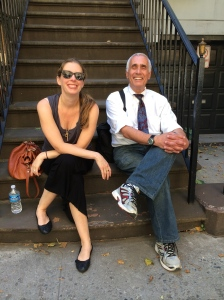 Father and Daughter in NYC